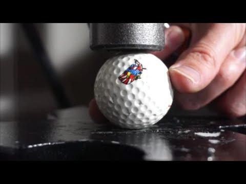 Hydraulic Press| Golf Ball Explodes!