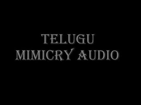 telugu school mimicry by gangadhar satyanarayana