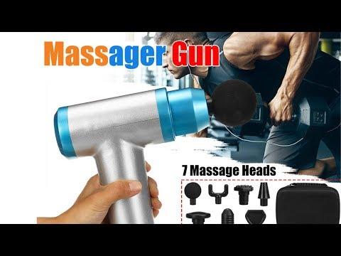 Phoenix A2 Muscle Massage Gun Deep Tissue Massager Therapy Gun Exercising Muscle Pain Relief Body Sh