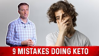 9 Common Mistakes Everyone Makes Doing Keto (Ketogenic Diet)
