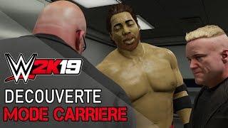 [Découverte] WWE 2K19 - Mode Carrière