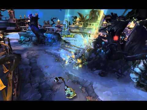League of Legends - Celestine Soraka (Death Animation & Sounds)