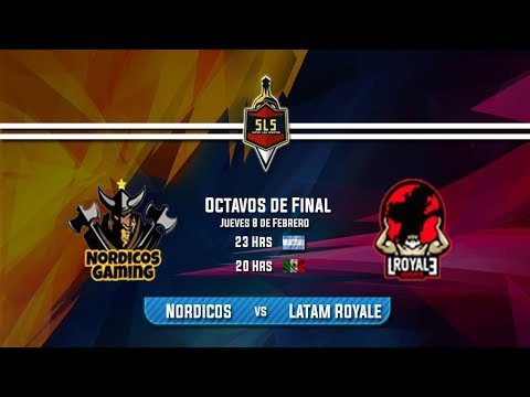 OCTAVOS DE FINAL  SUPER LIGA SPARTAN - NORDICOS vs LATAM ROYALE