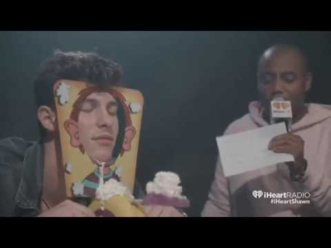 Shawn Mendes - Pie Face Game - iHeartRadio (...