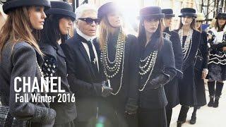 CHANEL Fall 2016 ft Karl Lagerfeld, Willow Smith, Pharrell, Kendall Jenner, Gigi Hadid | MODTV