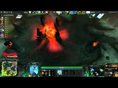 Seraph of Ancient vs Team Varsity - Singapore Dota 2 League April Aftershocks, game 2