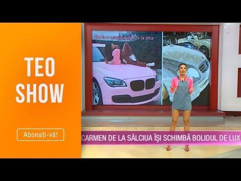 Teo Show (12.04.2019) - Carmen de la Salciua isi schimba bolidul de lux!