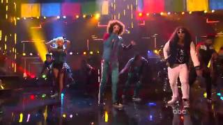 "Justin Bieber Dancing with LMFAO to ""Party Rock Anthem"""