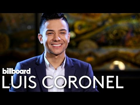 Luis Coronel Interview | Billboard Latin Music 2016
