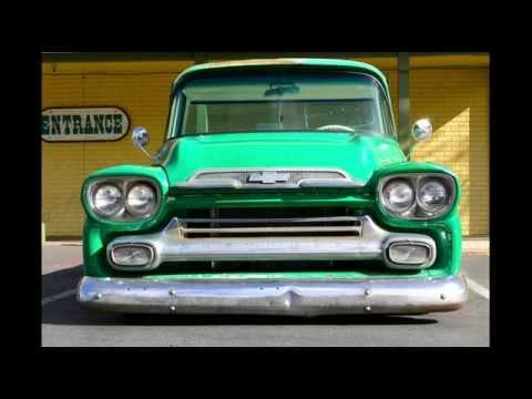 Rat Rod Trucks Hot Rod 1959 Chevy Apache Lowered Bagged