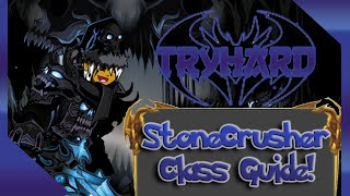 aqw stonecrusher class guide
