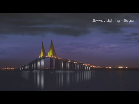 Kevin Campbell - Check Out The New Lights On The Skyway Bridge!