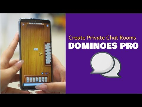 Add Friends And Private Chat Rooms With Dominoes Pro
