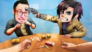 VR | РУССКАЯ РУЛЕТКА В ВИРТУАЛЬНОЙ РЕАЛЬНОСТИ - Bullet Roulette ВР #2