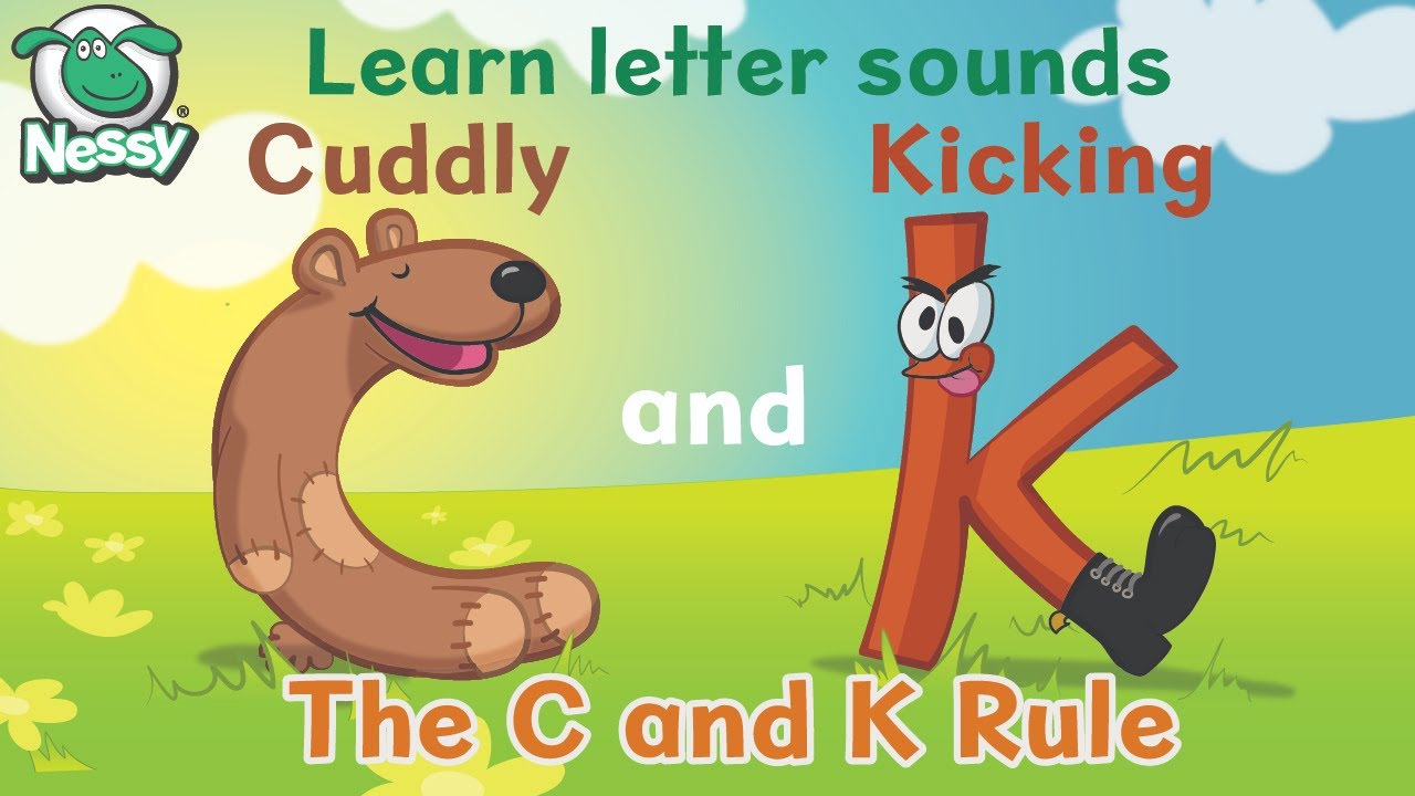 Nessy Spelling Strategy   Cuddly C and Kicking K   Learn to Spell - YouTube [ 720 x 1280 Pixel ]