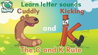 Nessy Spelling Strategy: Cuddly C and Kicking K