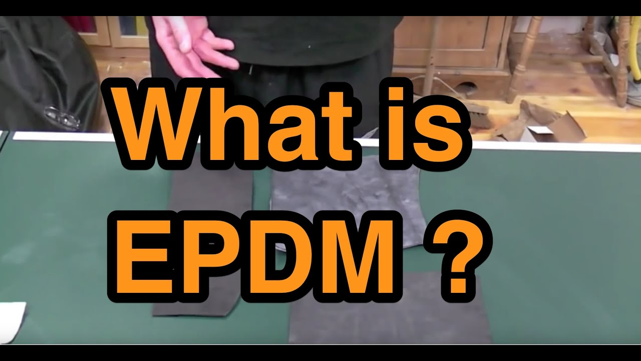 What Is Epdm Rubber Flat Roofing Youtube