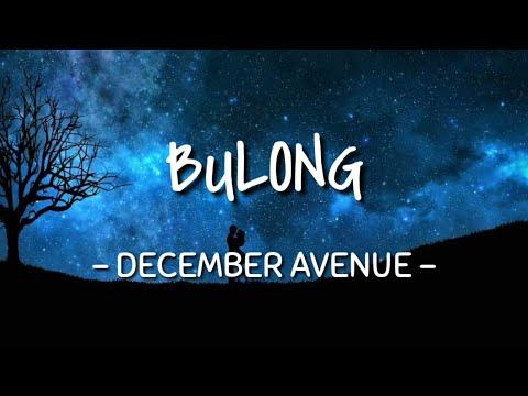 Bulong - December Avenue (Lyrics Video)