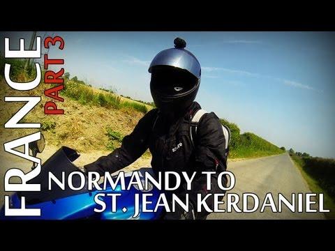 France Trip 2013 - Part 3 - Normandy to St. Jean Kerdaniel