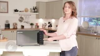 Russell Hobbs RHEM1901B 19L Easi Digital Flatbed Microwave – Black