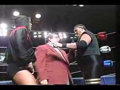 United Wrestling Terry Gordy clip