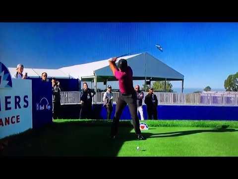 Tiger Woods - Driver (Slow Motion) 2018 Torrey Pines