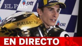 DIRECTO | Rueda de prensa de MARC MÁRQUEZ, campeón del mundo de MOTO GP