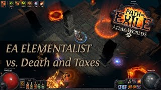 Path Of Exile 2.4: Grand Spectrum EA Elementalist - Death and Taxes map