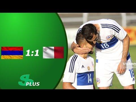 Armenia - Malta 1-1. Goals