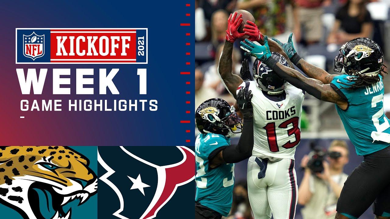 Download Jaguars vs. Texans Week 1 Highlights | NFL 2021