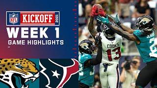 Jaguars vs. Texans Week 1 Highlights | NFL 2021