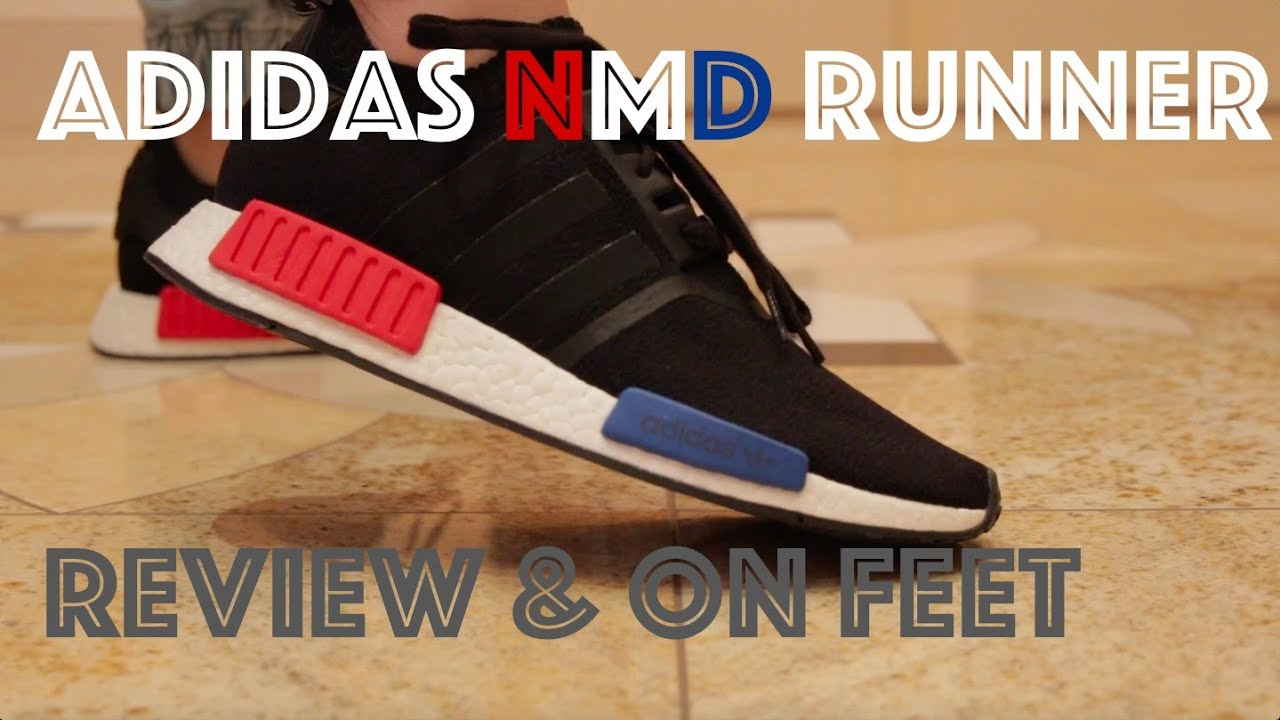 0b848c079 Adidas NMD PK Black OG Review   On Feet - YouTube