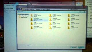 Windows 7 32bit -Using File Restore to Recover Deleted Files or Folders