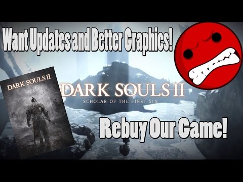 Dark Souls 2 Dev's Forcing Players To Rebuy Game?!