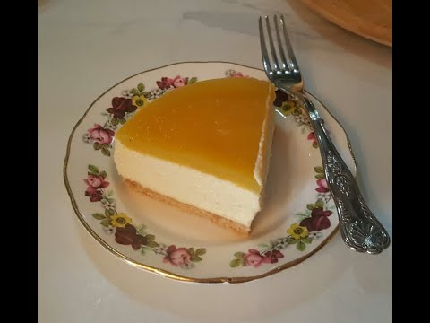 cheesecake-À-la-mangue/-mango-cheesecake