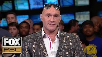 Tyson Fury on his decision to fight at a lighter weight | PBC ON FOX