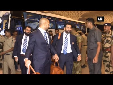 ICC Cricket World Cup 2019: Team India leaves for England