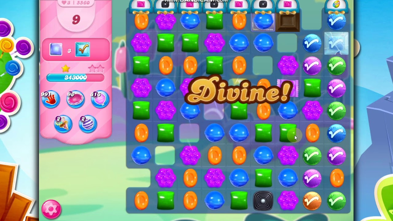 Download Candy Crush Saga Level 5560 -24 Moves- No Boosters