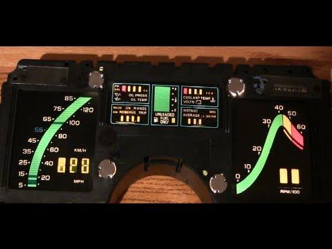 1976 Camaro Wiring Diagram 84 89 Corvette Gauge Fix 1 Disassembly Youtube