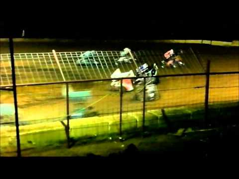 Cajun Sprints Feature Race at Flomaton Speedway july 20, 2013