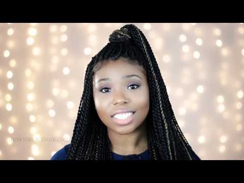 Box Braids On White People | Single Braids With Extensions