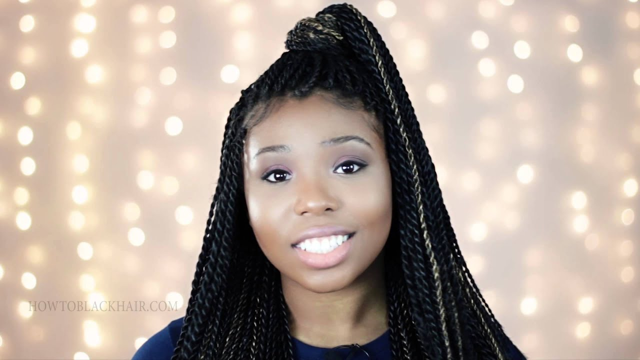 Box Braids On White People Single Braids With Extensions Youtube