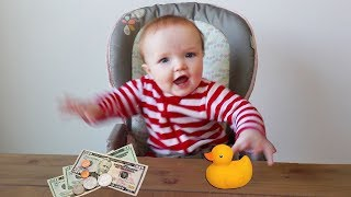 MONEY or TOYS?! Ultimate Baby Test with Niko - family morning routine