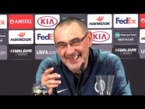 Frankfurt 1-1 Chelsea - Maurizio Sarri Full Post Match Press Conference - Europa League Semi-Final