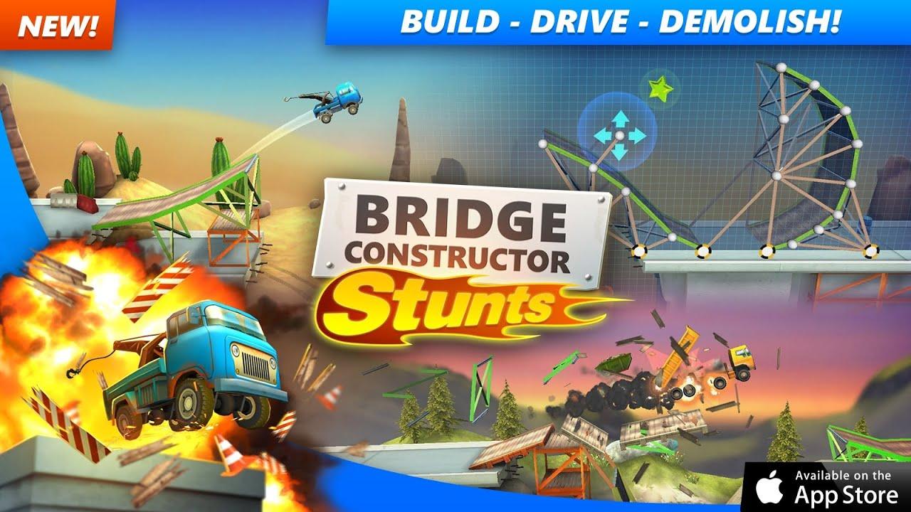 Bridge constructor stunts free – игры для android 2018 скачать.