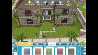 The Sims Freeplay - Astounding Creativity ~ Pools And Houses