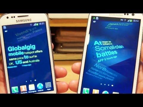 Samsung Galaxy S3 MINI Vs Galaxy S3