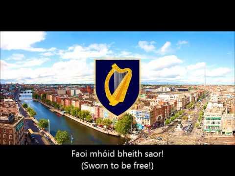 """National Anthem of Ireland (Éire) - """"Amhrán na bhFiann"""" (""""The Soldier's Song"""")"""