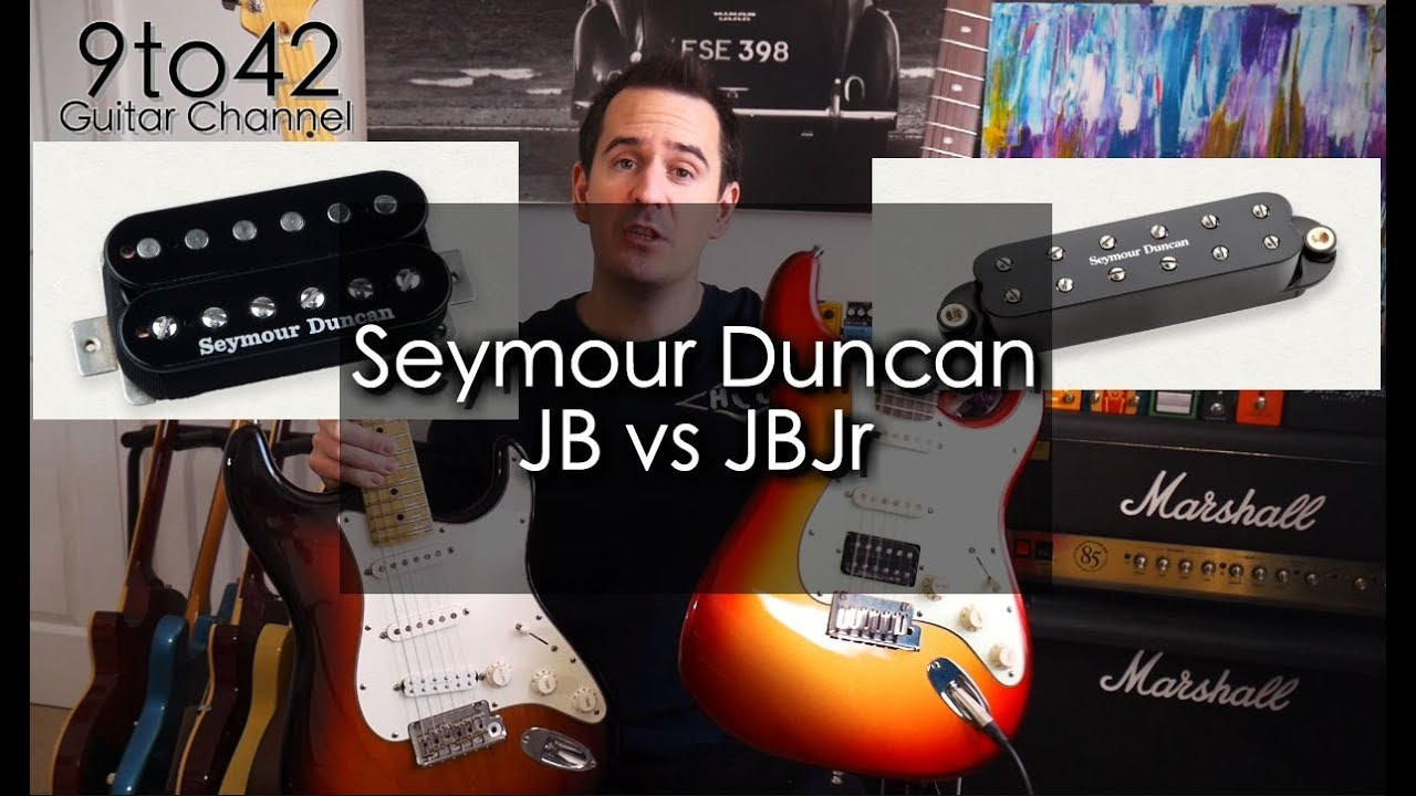 Seymour Duncan JB vs JBJr Comparison