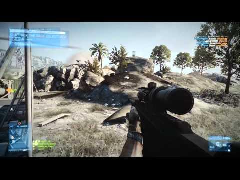 BF3 MP RH #64 Kharg Island Sniper Action (Ultra Full HD 1080p)